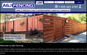 Website design & SEO for Tracy CA